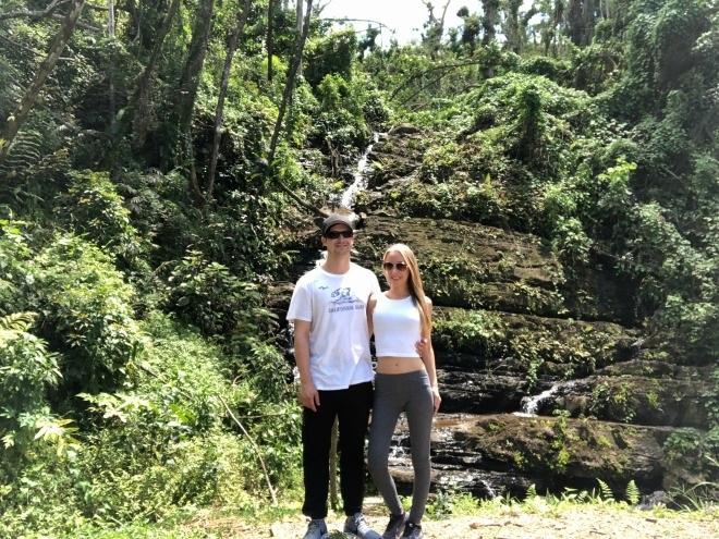 Hanging out at El Yunque Rainforest